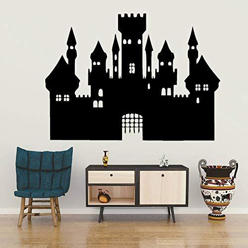 Hetingyue wandlamp van vinyl, afneembaar, voor slaapkamer, decoratie, fee, slot, muursticker, kinderen, jongens, meisjes, wanddecoratie