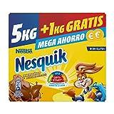 Nestlé NESQUIK Cacao Soluble Instantáneo - Estuche 5+1kg