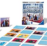 Ravensburger Italy - Disney Frozen 2 Memory in Formato Pocket, 15x15 cm, Gioco in Cartone,...