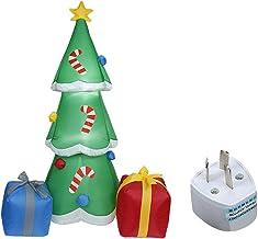 oshhni Árvore de Natal Criativa Explodir com Presente de Aniversário Levou Luz para Festa de Natal