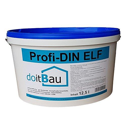 doitBau DIN PROFI weiß ELF Extra streichen Innenfarbe Farbe renovieren Wandfarbe Deckenfarbe
