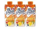 Bifrutas tropical bebida refrescante con leche y zumo de frutas - 3 x 330 ml