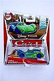 Disney / Pixar CARS Movie 1:55 Die Cast Car MAINLINE Carla Veloso with Flames [Allinol Blowout 1/9]
