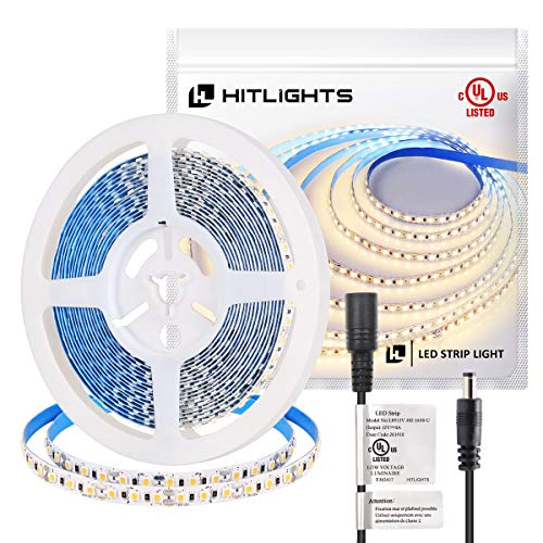Our #1 Pick is the HitLights Warm White LED Strip Lights