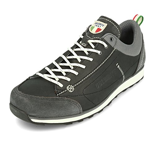 Dolomite Unisex-Erwachsene Zapato Cinquantaquattro Daily Trekking-& Wanderhalbschuhe, Black, 45 EU