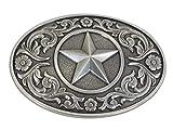 Nocona - Boucle de ceinture argentée - style western/cowboy - fabriqué...