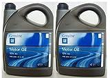General Motor oil semisintetico 10w40 ACEA A3/B4 API SL/CF 2 taniche da 5L = 10L