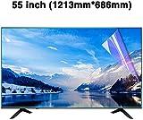 DPLQX 55 Pollici di Schermo Anti-Blue Light TV Protettore, Protector Files Schermo a LED, ...