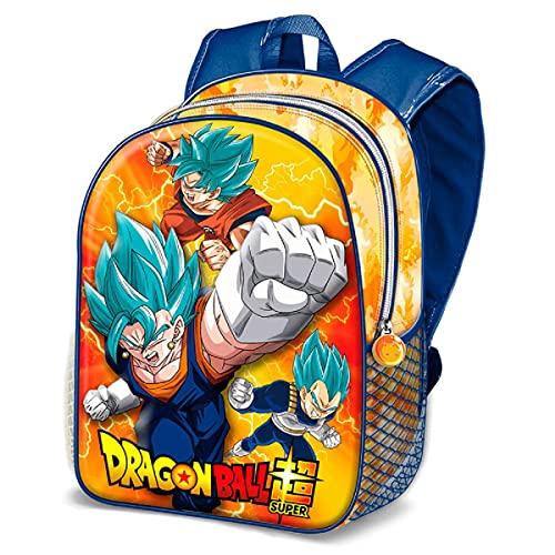 KARACTERMANIA Dragon Ball Super Vegito Mochila 3D  Pequeña   Naranja