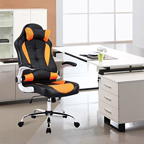 mecor Gaming Stuhl Racing Stuhl Leder kaufen  Bild 1*
