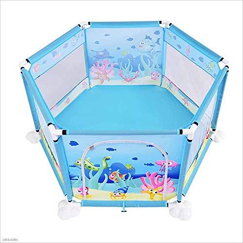 SZ JIAOJIAO Jeux pour Enfants barrière de sécurité portative pour bébé barrière Anti-Renversement adapté pour Les Nourrissons/Bambins/Rampe sûre,Playpen