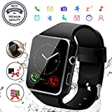 Montre Connectée,Smart Watch Montre Connectée Homme Montre de Sport Bluetooth...