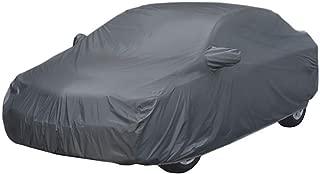 ARNV Fabric Car Body Cover for Honda Amaze (Grey)