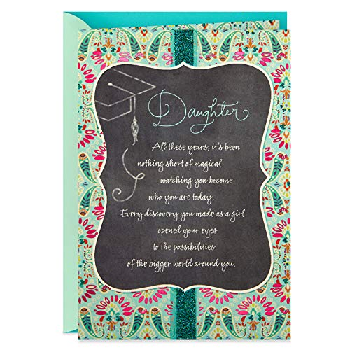 Hallmark Graduation Card for Daughter (Woman to Admire)