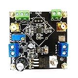 Amplificador de Instrumento AD623 Módulo Amplificador Señal de microvoltio diferencial de Extremo único Ajustable Amplificador DIY - Negro