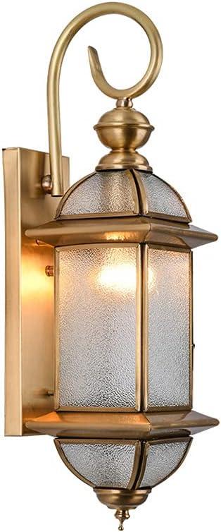 SDFDSSR American Brass Outdoor Wall Waterpr Fixture Copper Ranking TOP4 Light Oakland Mall