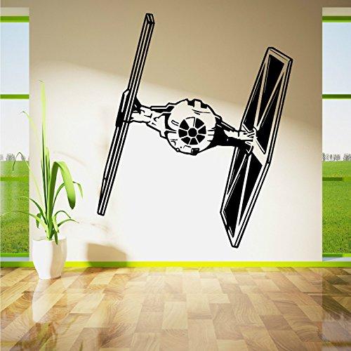 yuandp muurkunst vinyl sticker kamer afneembare sticker film sjabloon muur poster rookschip muurschildering kinderkamer decoratie 47 * 57 cm