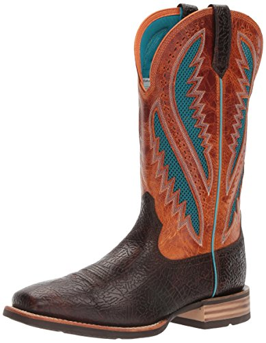 Ariat Men's Quickdraw Venttek Western Cowboy Boot, Glazed Bark, 12 D US