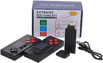 mewmewcat Console de videogame 4K Construído em 568 jogos clássicos Mini Retro Console