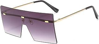 الأوروبية والأمريكية مربع كبير الإطار النظارات الشمسية أزياء النظارات الشمسية لون المحيط النظارات الشمسية واقية من الشمس ن...