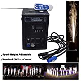 HTTMT- (1Pc) Indoor Outdoor 500W Cold Spark Firework Machine Stage Special Effect DMX Machine For DJ Wedding Event Party Ceremony Concert Show Fixture [P/N: ET-TOOL012-RAW]