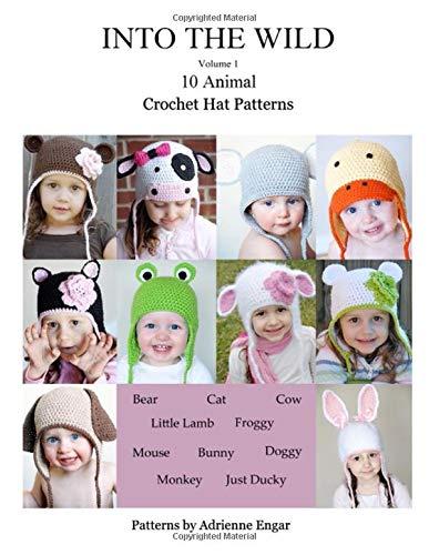Into the Wild Volume 1: 10 Animal Crochet Hat Patterns