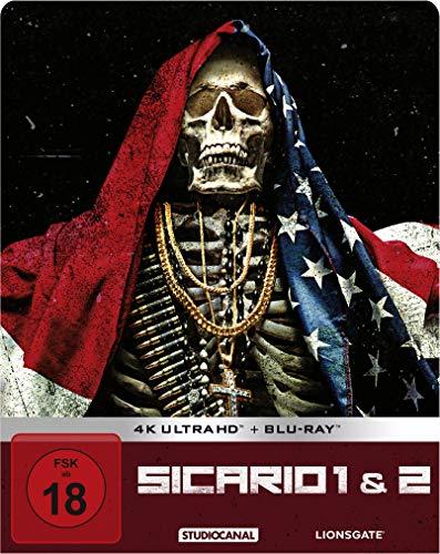 Sicario 1 & 2 / Limited Steelbook Edition / 4K Ultra HD (exklusiv bei Amazon.de) [Blu-ray]
