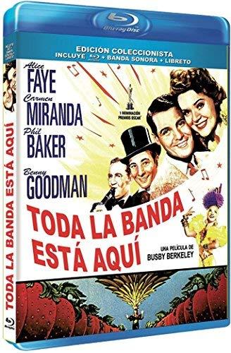 Banana Split / The Gang's All Here (1943) ( The Girl He Left Behind (The Gang is All Here) ) [ Origine Spagnolo, Nessuna Lingua Italiana ] (Blu-Ray)