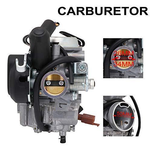 Carburador de la motocicleta AN125 para Mikuni 26MM para Suzuki AN125 AN150 PD26j Burgman