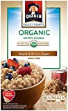 Quaker Instant Oatmeal, Maple Brown Sugar, 8 Count (Pack of 4)