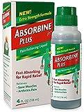 Absorbine Jr Plus Pain Relieving Liquid - New Extra Strength Formula - 4 Fl Oz (Pack of 3)
