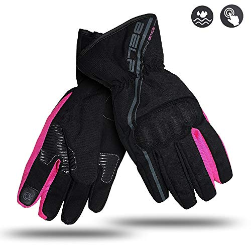 Bela Rebel Lady Guante Impermeable Invierno moto mujeres