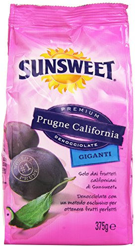 Sunsweet - Prugne California, Giganti, Secche, Denocciolate, 375 g