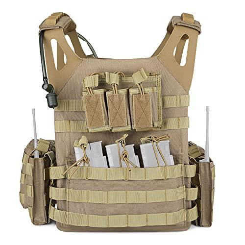 Huntvp Gilet Tactique Armée Militaire Gilet Molle...