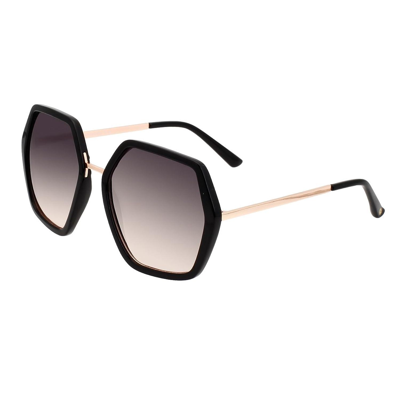 VIVIENFANG サングラス レディース オーバーサイズ PCレンズ UVカット 紫外線カット おしゃれ ファッション J52013