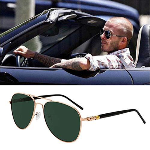 wkwk Gafas de Sol,Gafas de Sol polarizadas de Moda,Conductores Que conducen Gafas de Sol,2 Estilos (2 Piezas)