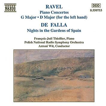 Ravel: Piano Concertos - De Falla: Nights in the Gardens of Spain