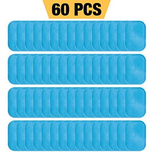 LAOYE 30 bolsas EMS Gel Pad 60 unidades Gels Pad para EMS Trainer Abs Trainer Abs Trainer Eléctrica Gel Hojas de repuesto de repuesto de hojas AB Flex Gel EMS Pad (2 unidades/bolsa)