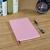 Xixv 1pcs difusa PU de la cubierta de piel del cuaderno escritura de un diario...