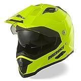 NENKI Casque Moto Cross Enduro Adventure avec double visières NK-313,ECE homologué...