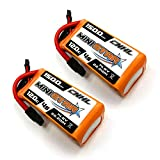 CNHL 1500mAh 4S Lipo Battery 14.8V 120C with XT60 for FPV Racing,RC Quadcopter Helicopter Airplane Multi-Motor Hobby DIY Parts(2 Packs)
