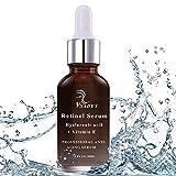 Vsadey Serum con Retinol Cara de 2,5% con ácido hialurónico vitamina E suero...