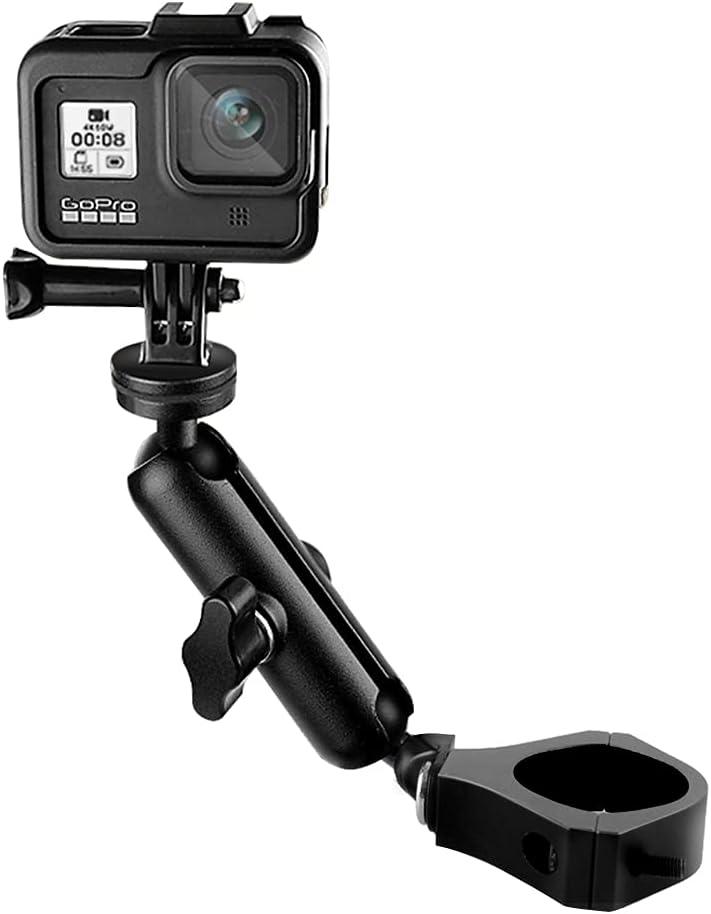 Max Soldering 57% OFF UTV ATV Camera Mount Holder Cam Dash Compatible GoPro with