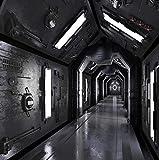 Fototapete 3D Stereoscopic Tunnel Space Poster Wandbild