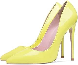 Shoes Woman High Heels Pumps 12Cm Tacones Pointed Toe Stilettos Talon Femme Sexy Wedding Shoes