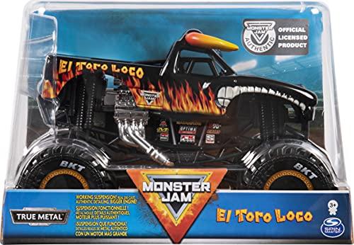 """Monster Jam Monster Truck """"ElToroLoco"""", 6056054 MNJ VHC C2 UPCX GML 1 bis 24 DC"""