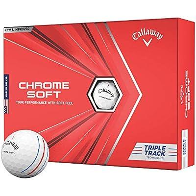 Callaway 64212571280 Accesorios de Golf, Unisex-Adult, Triple Tracks, Blanco, Talla única