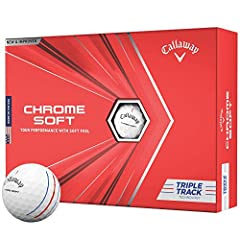 Chrome Soft takes Tour performance to another level; We've reengineered every aspect and element in the ball for more speed off the tee, and longer distance off of every club in the bag A faster, larger Graphene-infused Dual SoftFast Core is designed...