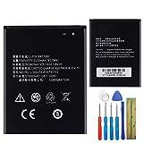 E-yiiviil Batería de repuesto Li3821T43P3h745741 compatible con ZTE...