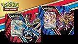 GET Both TINS Pokemon Legends of Galar Booster Packs Tin Sets Zacian V & Zamazenta V!